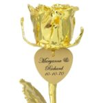 Why a Gold Dipped Rose Is the Most Romantic Gift