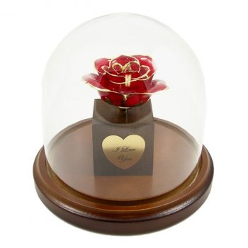 Personalized Enchanted Preserved Rose Bloom