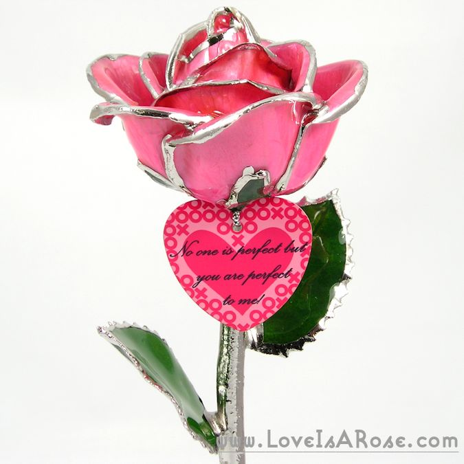 personalized valentines day gift hugs and kisses rose love is a rose