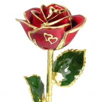 """11"""" Two Hearts of Love Rose Gift"""
